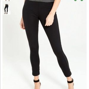 Women's Spanx cropped track pants sz L B2